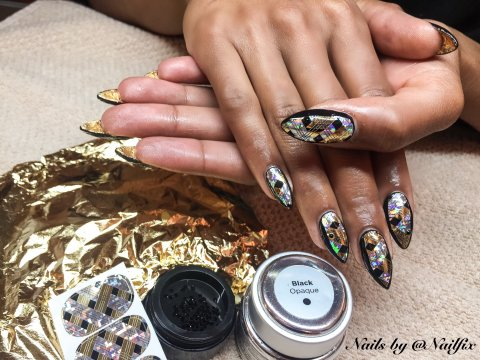 Nabiha Nailfix Negle Nailart. Talent 2016
