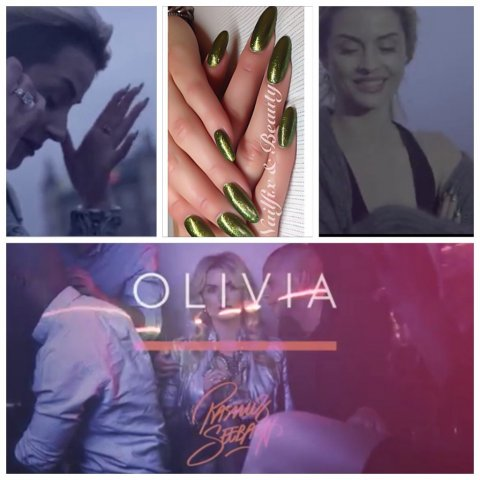 Rasmus Seebachs music video OLIVIAs nails on Stine Hjelm Jacobsen